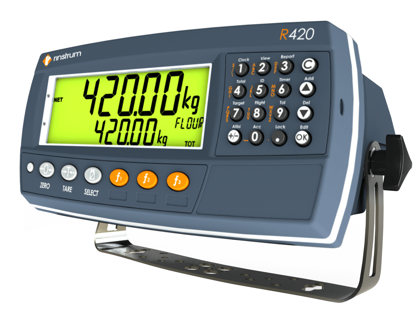 R420, R423 and R427 – K410, K411, K412 Firmware – Rinstrum on